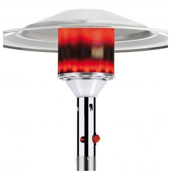 parasol chauffant gaz cosy classic inox. Black Bedroom Furniture Sets. Home Design Ideas