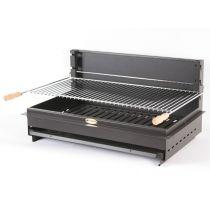 Barbecue charbon de bois encastrable Le Marquier iholdy