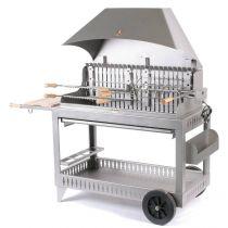 Barbecue charbon de bois Le Marquier Etchalar inox