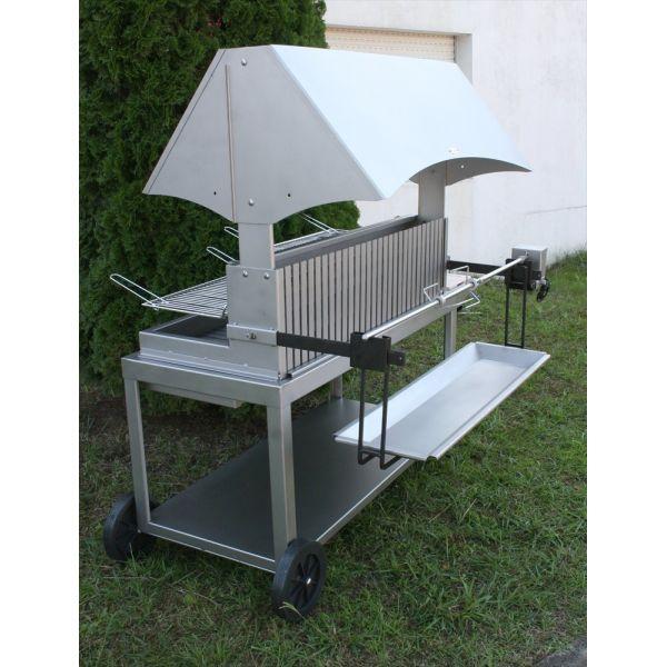 barbecue le marquier mechoui inox hotte. Black Bedroom Furniture Sets. Home Design Ideas