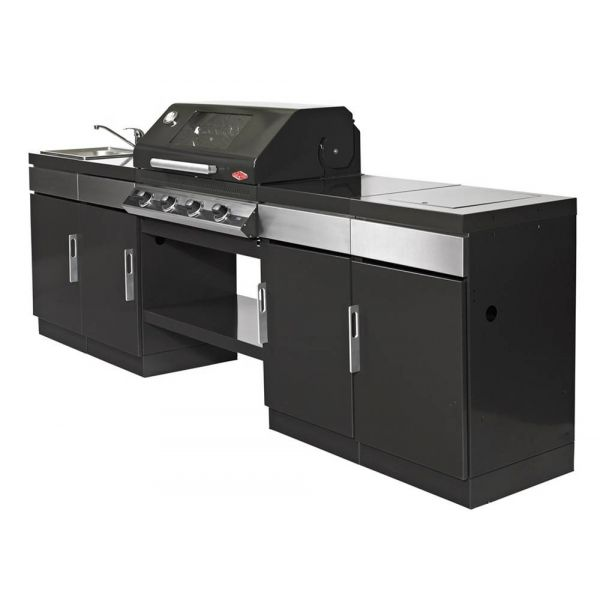 Le mod le discovery 1000e 4 br leurs le barbecue gaz encastrable beefeater - Barbecue gaz encastrable ...