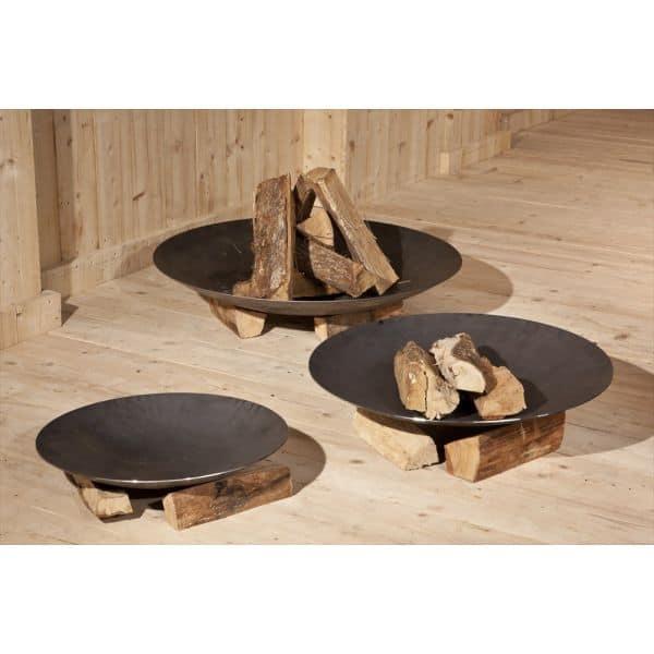 brasero nielsen fire bowl 800 80 x 14 cm un brasero exterieur. Black Bedroom Furniture Sets. Home Design Ideas