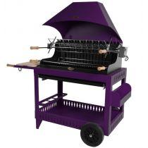 Barbecue charbon de bois Le Marquier Irissary violine