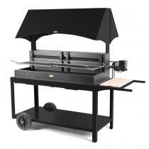 Barbecue charbon de bois Le Marquier Mechoui noir