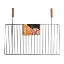 Grille barbecue simple rectangulaire 40 x 67 cm