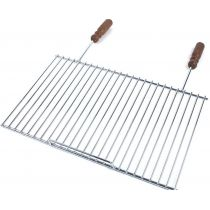 Grille barbecue simple rectangulaire 33 x 51 cm