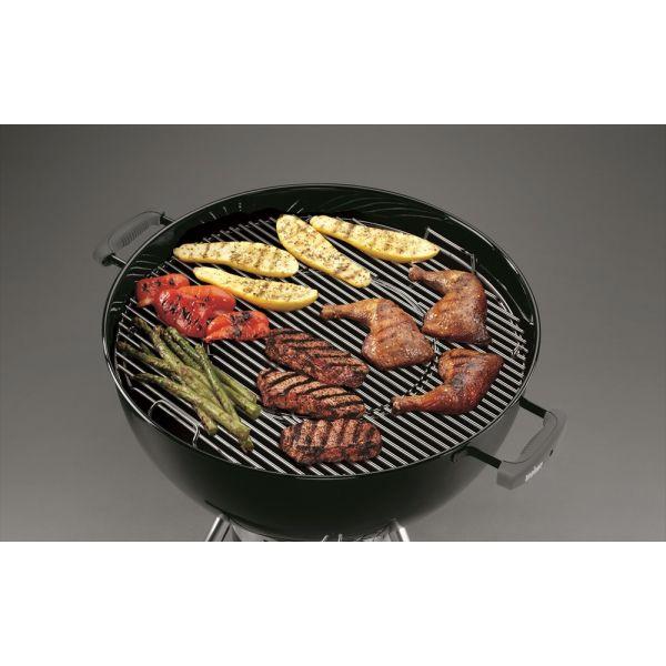 Grille ronde gourmet pour barbecue weber 57 un accessoire weber - Grille de barbecue ronde ...