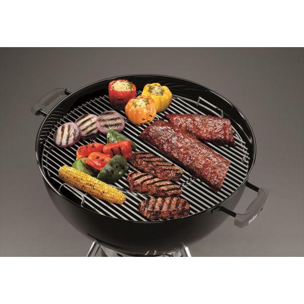 Grille ronde gourmet pour barbecue weber 57 un accessoire - Grille pour barbecue weber ...