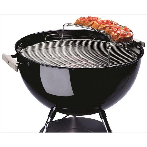 Grille de rechauffage pour barbecue charbon weber un - Charbon de bois weber ...
