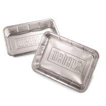Barquettes aluminium weber barbecue