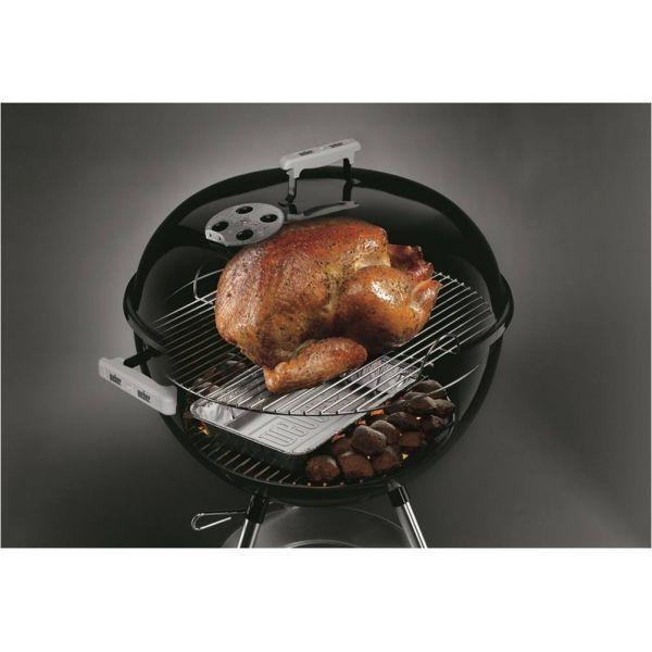 barquettes aluminium un accessoire pour barbecue charbon weber 47 cm. Black Bedroom Furniture Sets. Home Design Ideas