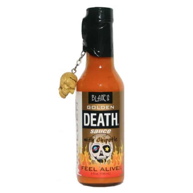Sauce piquante Blair's golden death avec chipotle