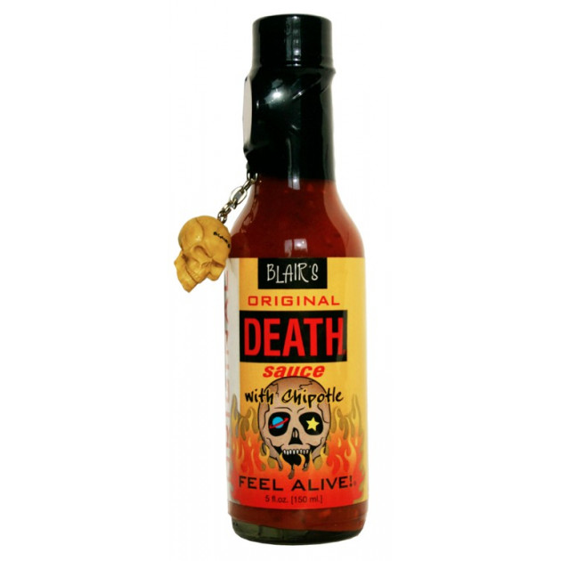 Sauce piquante Blair's original death avec chipotle
