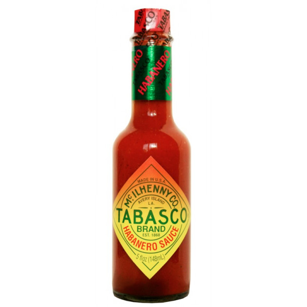 Sauce piquante Tabasco habanero