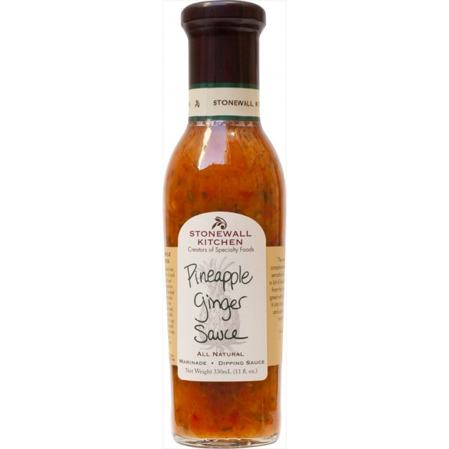 Marinade barbecue Stonewall Pineapple ginger