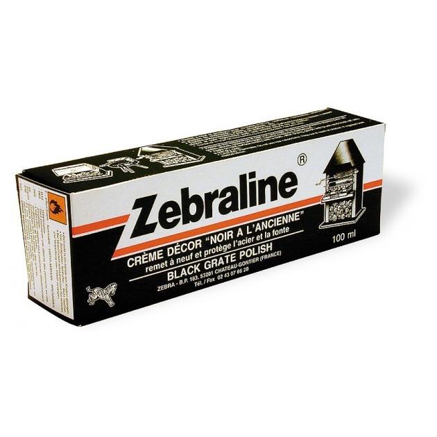 Crème nettoyante Zebraline Noir à l'Ancienne 100 ml