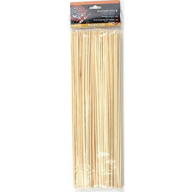 Brochettes en bois (x 100) 30 cm