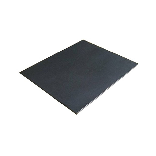 Plaque fonte cheminée mur et sol lisse 60 x 80 cm