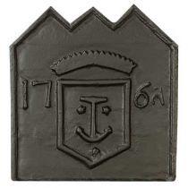 Plaque fonte L'ancre 57 x 59 cm
