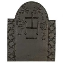 Plaque fonte Saint Pierre 73 x 90 cm