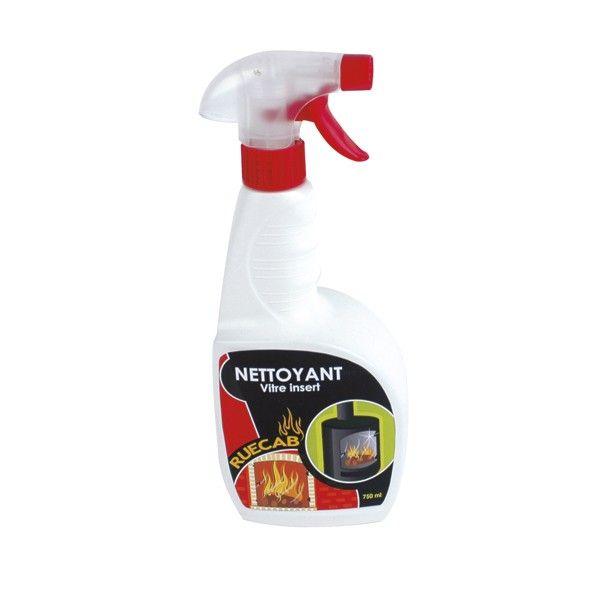 Nettoyant vitre insert 750 ml - Vitre autonettoyante pour insert ...