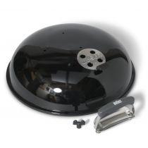 Couvercle barbecue charbon Weber 47 cm noir intense