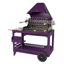 Barbecue charbon de bois Le Marquier Isturitz violine