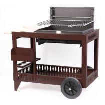 Barbecue charbon de bois Le Marquier Montory chocolat