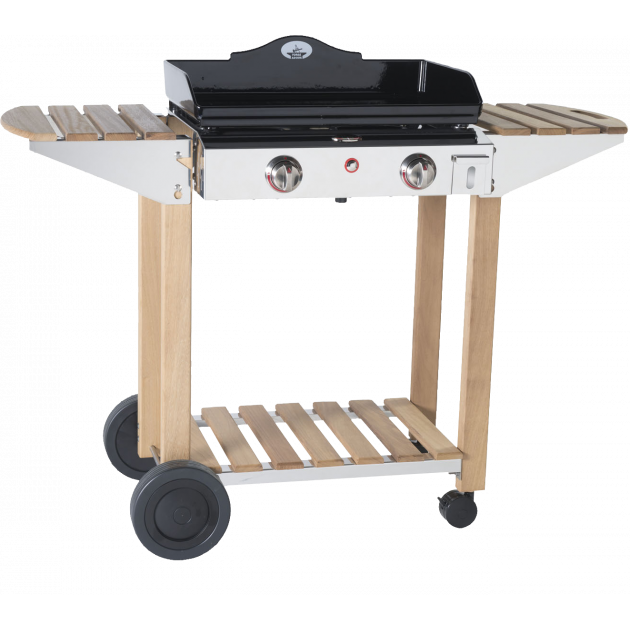 barbecue au gaz avec plancha achetez barbecue gaz avec plancha plancha gaz planet chariot inox. Black Bedroom Furniture Sets. Home Design Ideas
