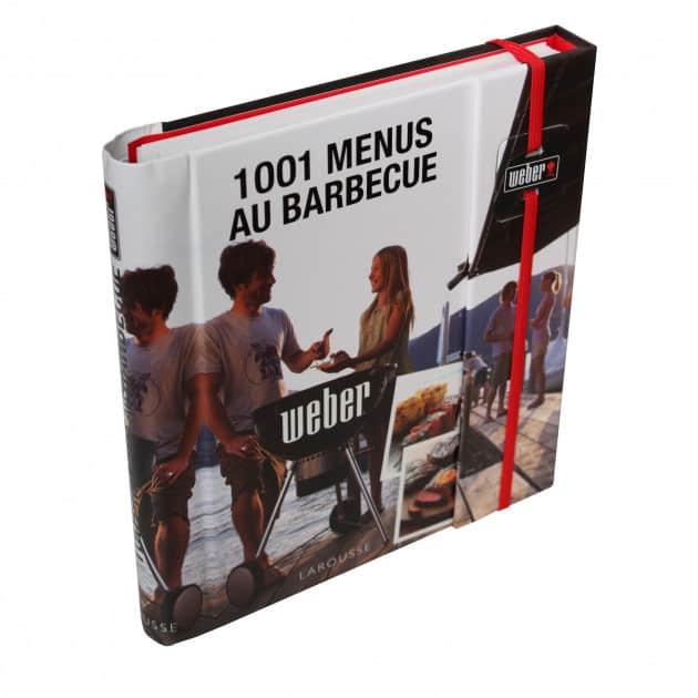 Livre 1001 Menus au barbecue
