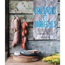 Livre de recettes Hachette Grillades et Barbecues