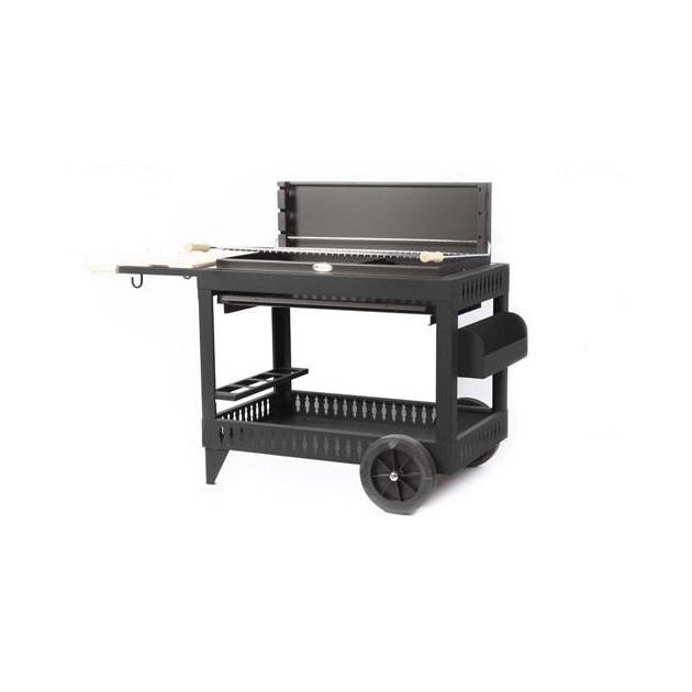 Barbecue charbon de bois Le Marquier Iholdy anthracite