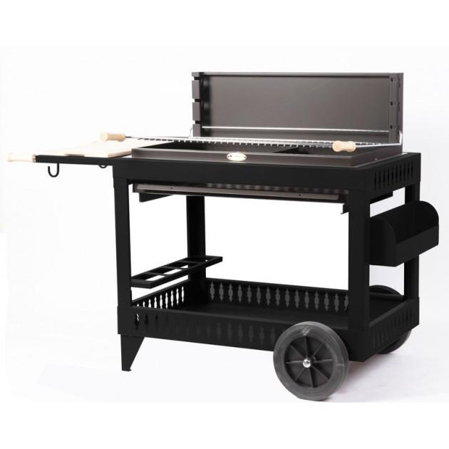 Barbecue charbon de bois Le Marquier Iholdy noir