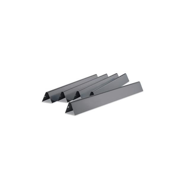 Barres Flavorizer acier pour Weber Genesis série 300 (boutons côté)