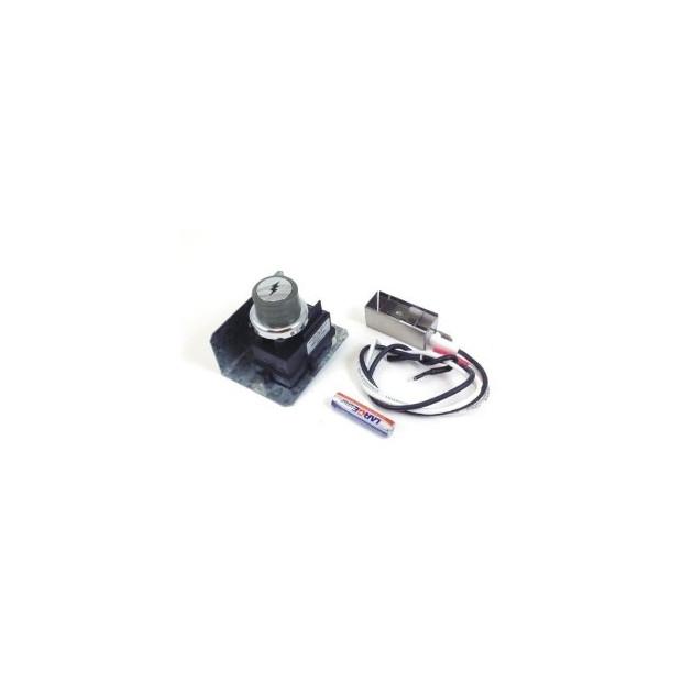 Kit piezzoélectrique et électrode Weber Spirit Premium (boutons côté)