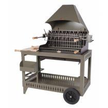 Barbecue charbon de bois Le Marquier Isturitz taupe