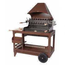 Barbecue charbon de bois Le Marquier Isturitz chocolat