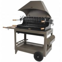 Barbecue charbon de bois Le Marquier Irissary taupe