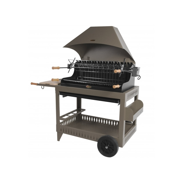Barbecue charbon de bois Le Marquier Irissary taupe
