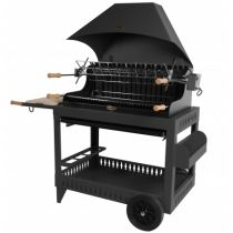Barbecue charbon de bois Le Marquier Irissary anthracite