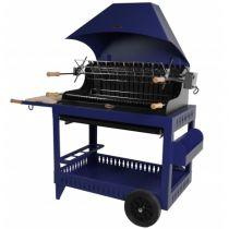 Barbecue charbon de bois Le Marquier Irissary bleu klein