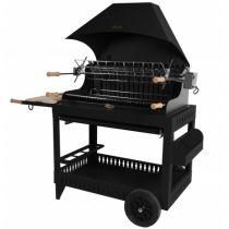 Barbecue charbon de bois Le Marquier Irissary noir