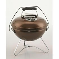 Barbecue charbon de bois Smokey Joe Premium marron glacé