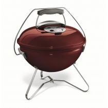 Barbecue charbon de bois Smokey Joe Premium rouge figue