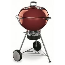 Barbecue charbon Master-Touch rouge bordeaux Weber