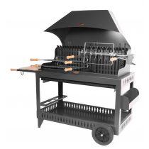Barbecue charbon de bois Le Marquier Etchalar noir