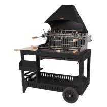 Barbecue charbon de bois Le Marquier Isturitz noir