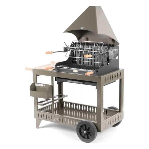 Barbecue charbon de bois Le Marquier Mendy taupe