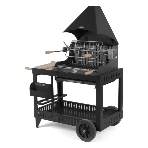 Barbecue charbon de bois Le Marquier Mendy noir