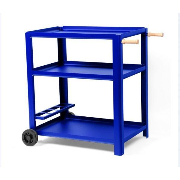 le mod le grande begonia couleur bleu klein une desserte pour plancha le marquier 75 cm. Black Bedroom Furniture Sets. Home Design Ideas